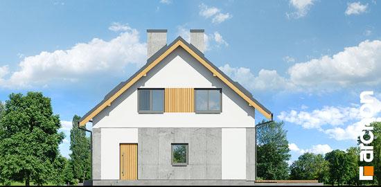Elewacja boczna projekt dom w wiosnowkach  265