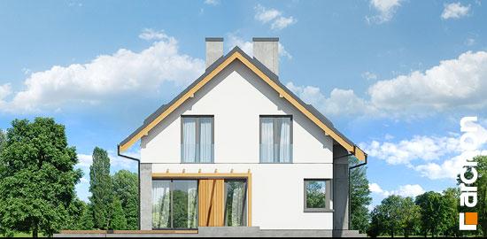 Elewacja boczna projekt dom w wiosnowkach  266
