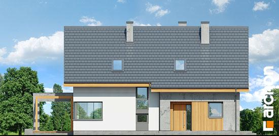 Elewacja frontowa projekt dom w wiosnowkach  264