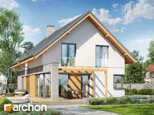 projekt Dom w wiosnówkach
