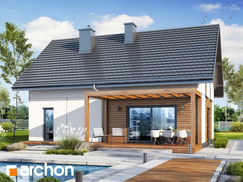 gotowy projekt Dom w lucernie 12 widok 2
