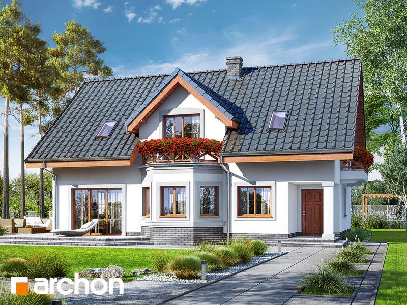 gotowy projekt Dom w majeranku 2 (AT) widok 1
