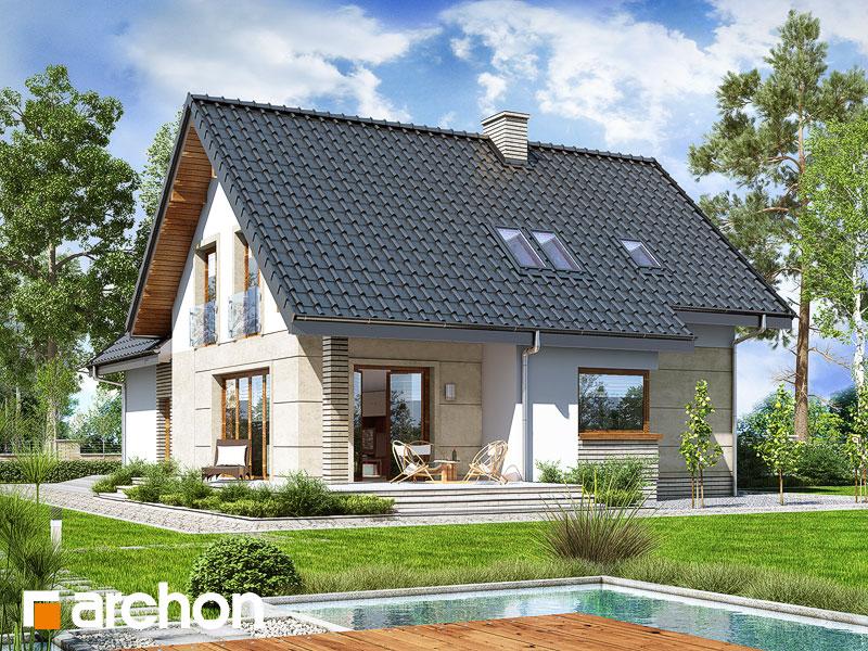gotowy projekt Dom w miłowonkach (G2) widok 1