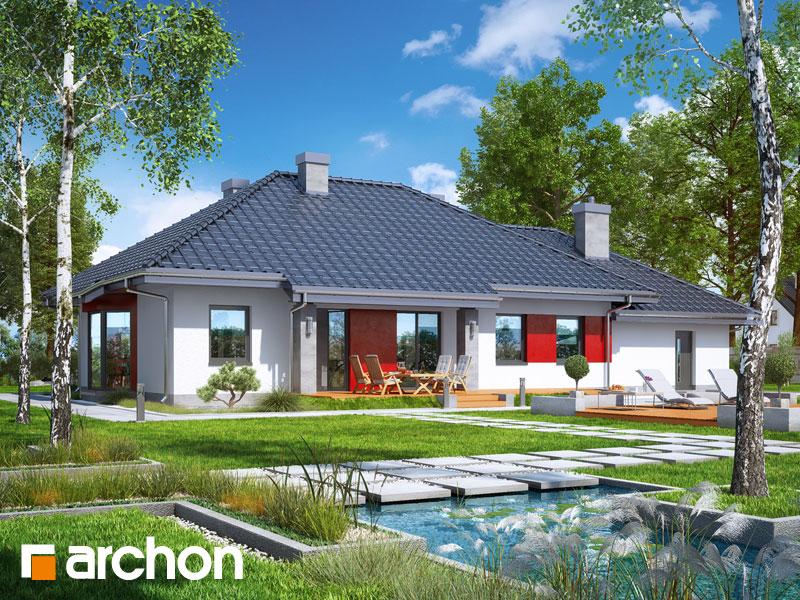 gotowy projekt Dom w gaurach (G2N) widok 1
