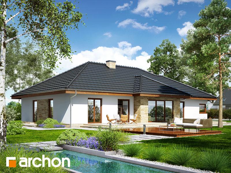 gotowy projekt Dom w cyprysikach 2 (G2) widok 1