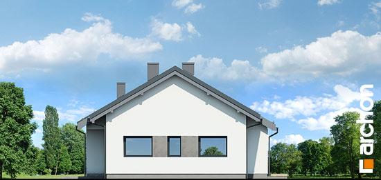 Elewacja boczna projekt dom w peperomiach 4  265