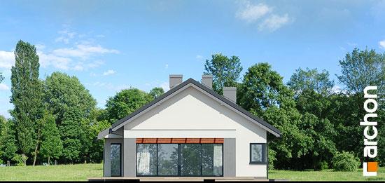Elewacja boczna projekt dom w peperomiach 4  266