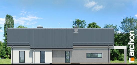 Elewacja ogrodowa projekt dom w peperomiach 4  267