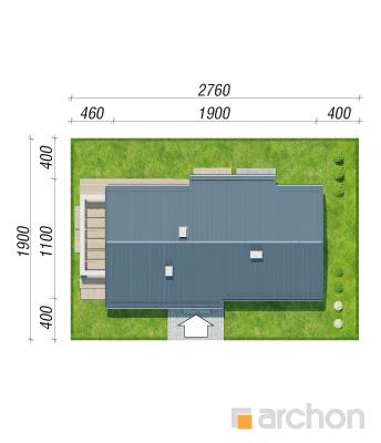 projekt Dom w peperomiach 4 sytuacja