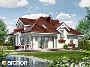 projekt Dom w jeżówkach widok 2