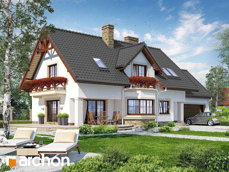 gotowy projekt Dom w majeranku 2 (G2) widok 1
