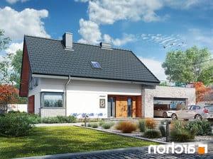 projekt Dom w malinówkach (G2P) lustrzane odbicie 1