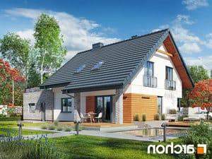 projekt Dom w malinówkach (G2P) lustrzane odbicie 2