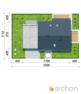 projekt Dom w malinówkach (G2P) sytuacja