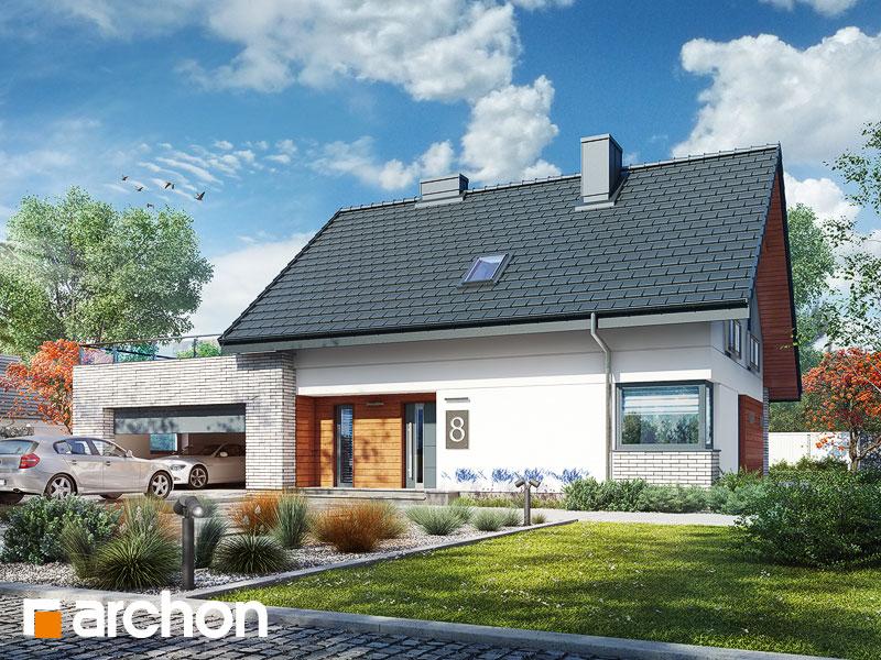 gotowy projekt Dom w malinówkach (G2P) widok 1