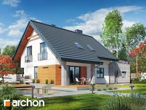 projekt Dom w malinówkach (G2P) widok 2