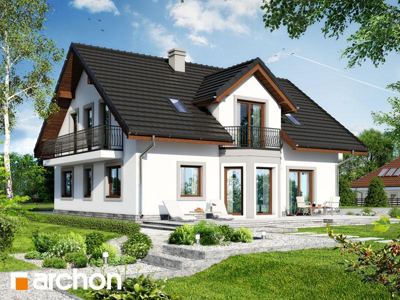 gotowy projekt Dom w dąbrówkach 2 (G2) widok 2