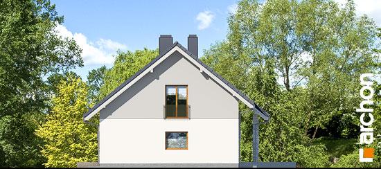 Elewacja boczna projekt dom w wisteriach 5 g2  265