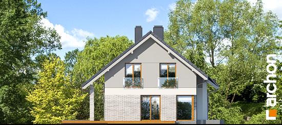 Elewacja boczna projekt dom w wisteriach 5 g2  266