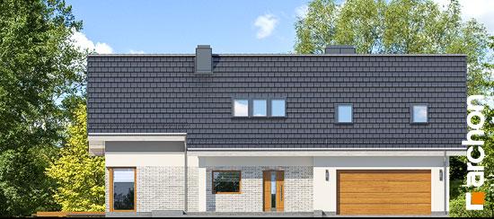 Elewacja frontowa projekt dom w wisteriach 5 g2  264
