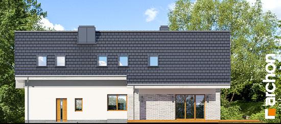 Elewacja ogrodowa projekt dom w wisteriach 5 g2  267