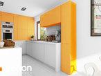 projekt Dom w wisteriach 5 (G2) Wizualizacja kuchni 1 widok 1