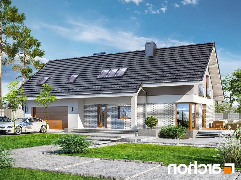 Lustrzane odbicie 1 projekt dom w wisteriach 5 g2  289lo