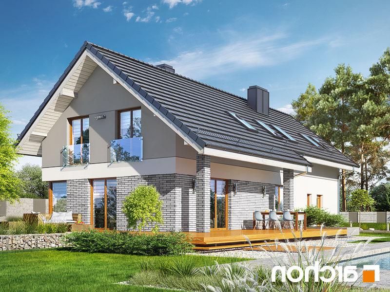 Lustrzane odbicie 2 projekt dom w wisteriach 5 g2  290lo
