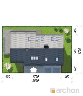 projekt Dom w wisteriach 5 (G2) sytuacja