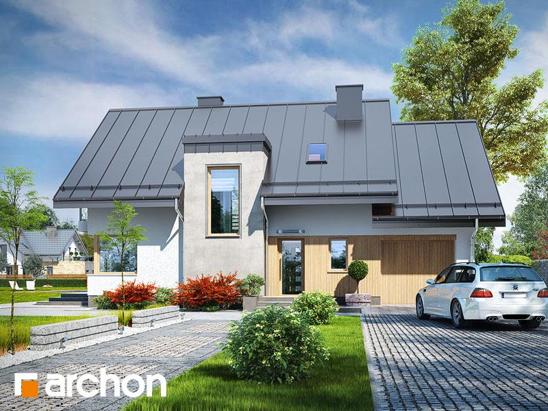 gotowy projekt Dom w amarylisach 7 widok 1