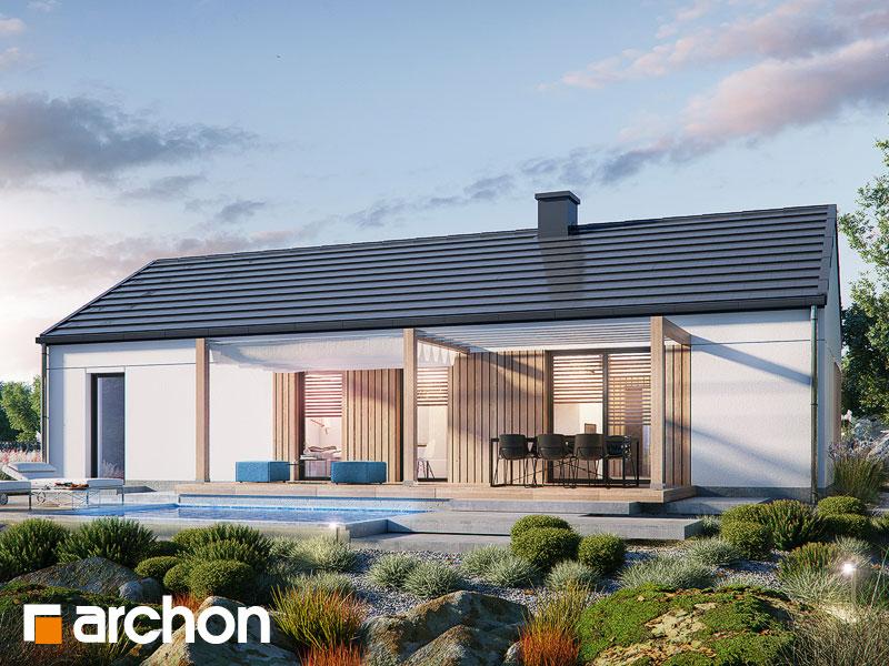 gotowy projekt Dom w kruszczykach 3 (G) widok 1