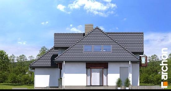 Elewacja boczna projekt dom w kalateach 2 ver 2  265