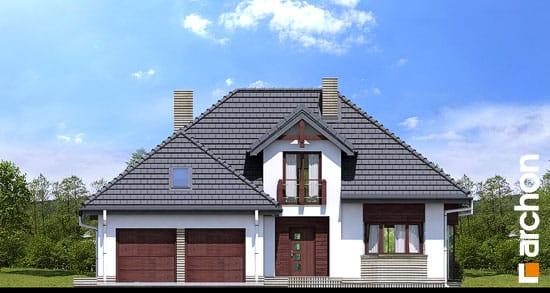 Elewacja frontowa projekt dom w kalateach 2 ver 2  264