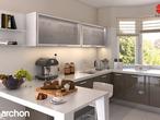projekt Dom w kalateach 2 Aranżacja kuchni 1 widok 2