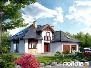 projekt Dom w kalateach 2 lustrzane odbicie 1