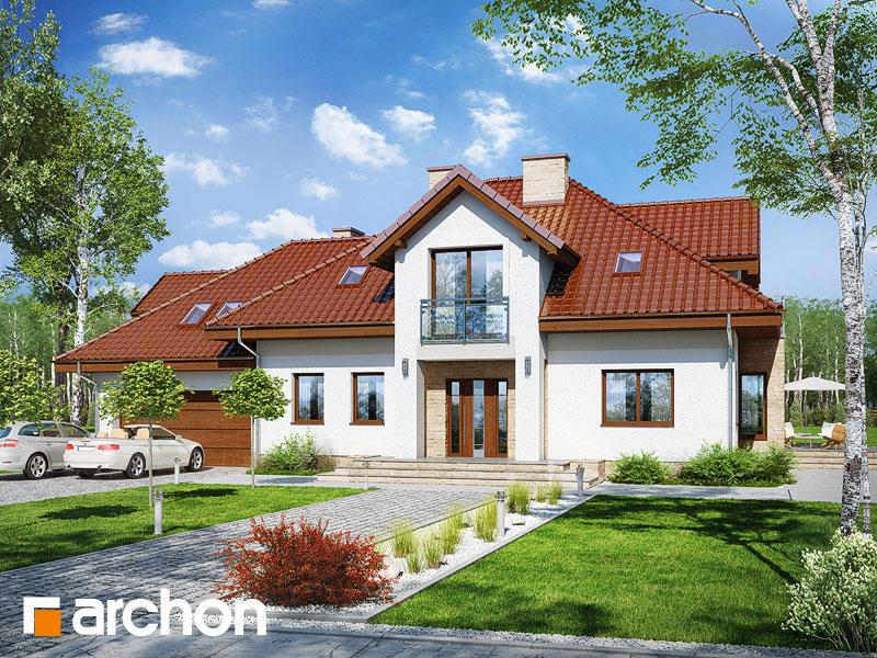 gotowy projekt Dom w kaliach 5 (G2N) widok 1