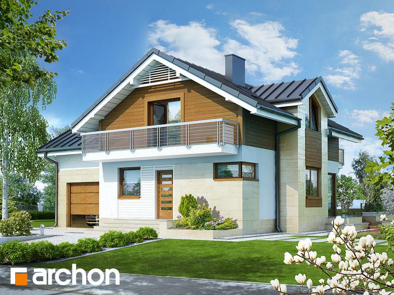gotowy projekt Dom w morelach 3 widok 1