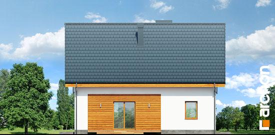 Elewacja ogrodowa projekt dom w zielistkach 6 pt  267