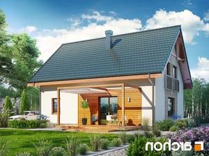 projekt Dom w zielistkach 6 (PT) lustrzane odbicie 2