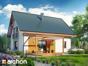 projekt Dom w zielistkach 6 (PT) widok 2