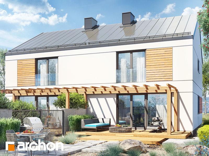 gotowy projekt Dom w tunbergiach 2 (R2A) widok 1