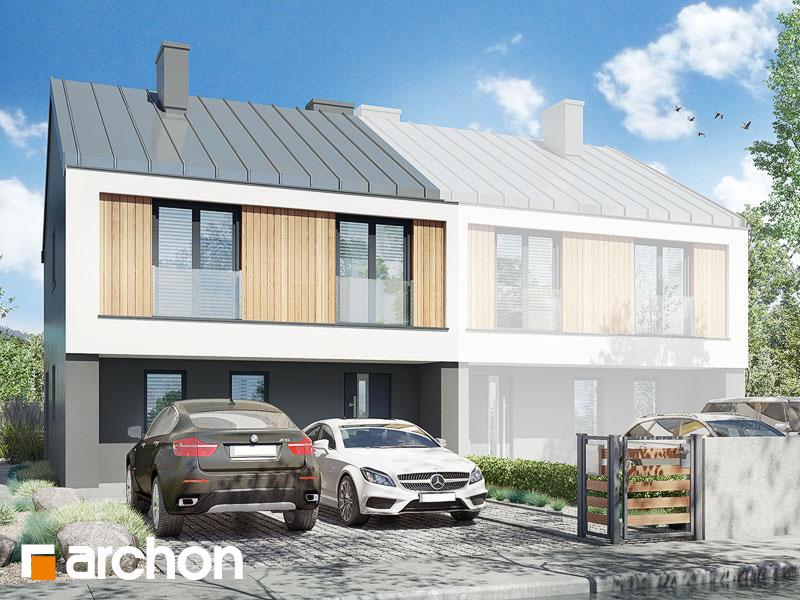 gotowy projekt Dom pod milinem (B) widok 1
