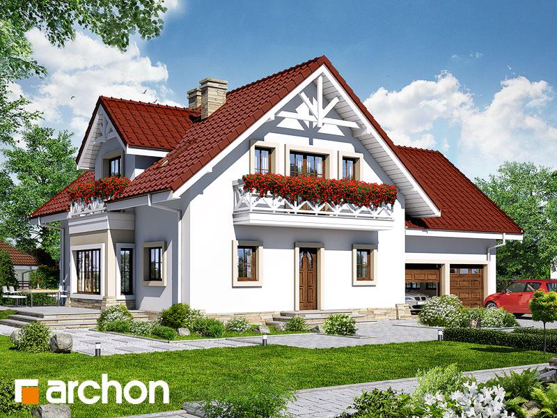 gotowy projekt Dom w oregano widok 1