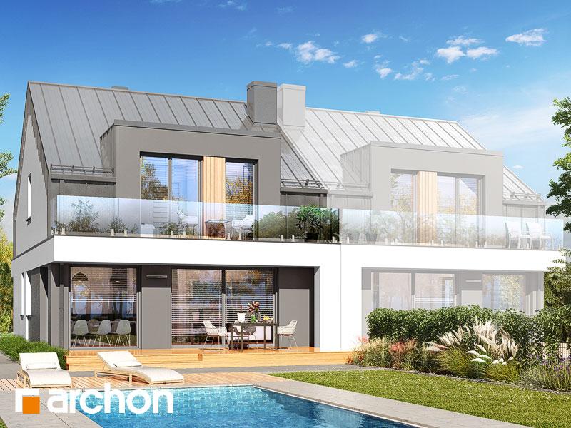 gotowy projekt Dom w klematisach 31 (B) widok 1