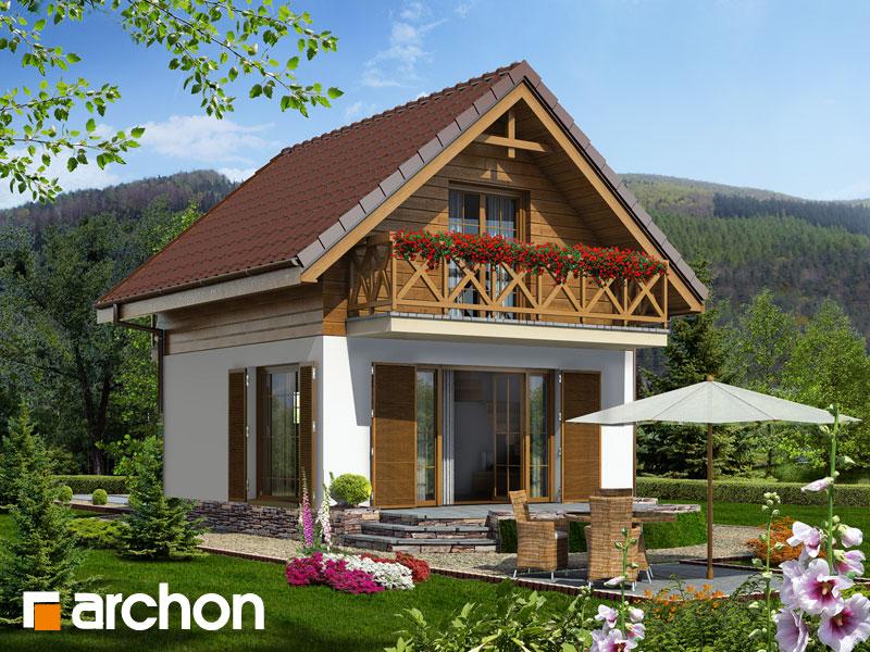 gotowy projekt Dom w krokusach (A) widok 1