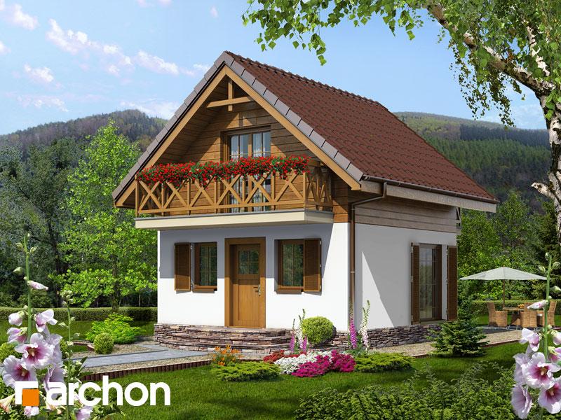 gotowy projekt Dom w krokusach (A) widok 2