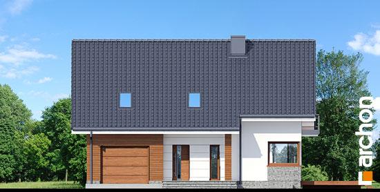 Elewacja frontowa projekt dom w aurorach p  264