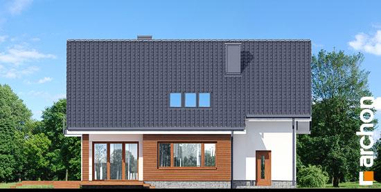 Elewacja ogrodowa projekt dom w aurorach p  267