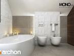 projekt Dom w aurorach (P) Wizualizacja łazienki (wizualizacja 1 widok 3)
