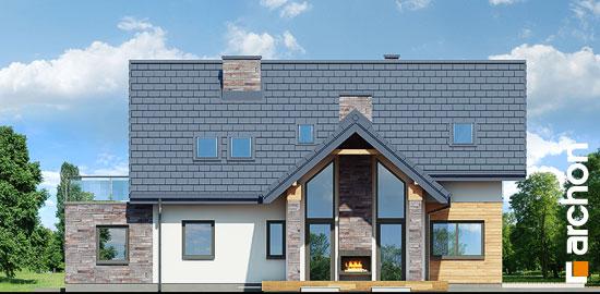 Elewacja ogrodowa projekt dom w brunerach g2  267
